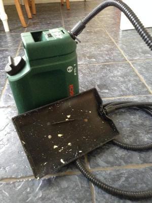 Steam wallpaper remover