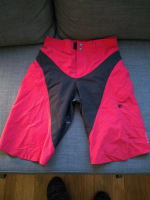 Womens gore bike wear shorts