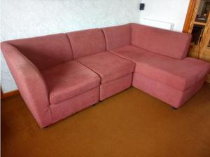 Corner Sofa with Chaise Longue in Gillingham