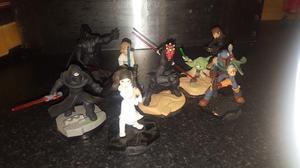Disney Infinity Star Wars figures x8