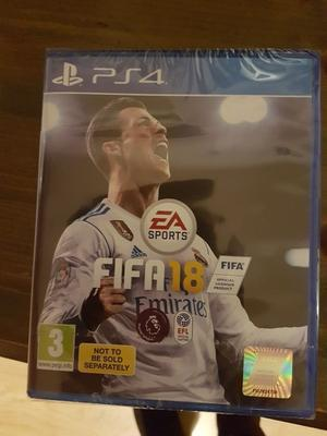 Fifa 18 for ps4. Brand new in wrapper