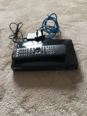 Open box with remote - Used but in good condition
