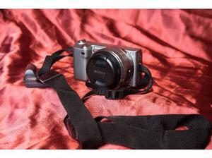 Sony Nex-5 camera, 16mm f2.8 lens, 30mm f2.8 lens in