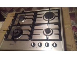 Stainless steel gas hob in Middlesbrough