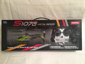 Syma S107G Three-Channel RC Helicopter With Gyro (green)