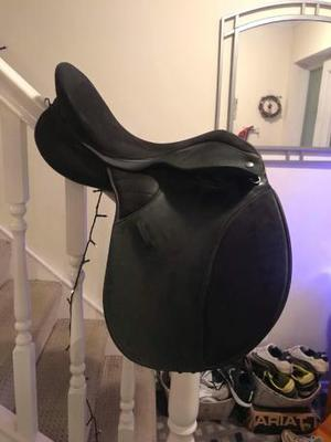 THOROWGOOD T4 BLACK SADDLE
