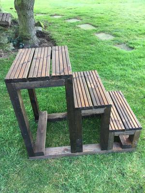 Wooden Mounting Block For Sale
