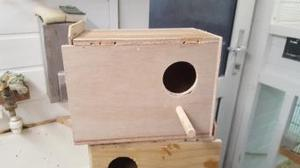 budgie nest boxes.