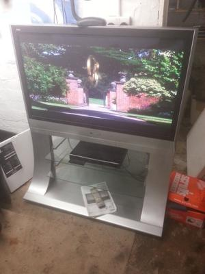 """for sale panasonic 42 hd """" widescreen tv with freeview and remote control £75"""