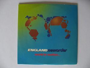 Englandneworder ?– World In Motion 4 Track CD Single –