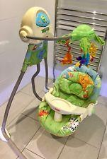 Fisher price swing and cradle