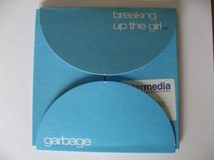 Garbage – Breaking Up The Girl - CD Single Enhanced Promo