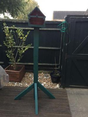 Gardenbird house/feeder