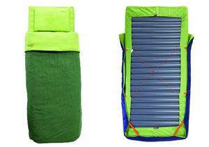 Inflatable Mattress Sleeping Bag Camping Bed