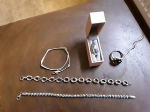 Ladies solid silver jewellery