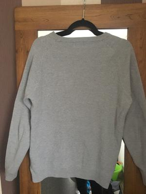 Next Men's Grey jumper Medium size