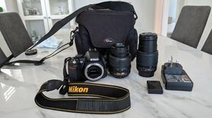 Nikon D Digital SLR Camera with mm