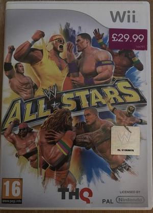 """Nintendo Wii """"All Stars"""" game, 16, up to 4 players"""
