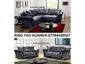 SHANNON CORNER SOFA OR 3+2 SOFAS WITH MANY MORE TO CHOOSE