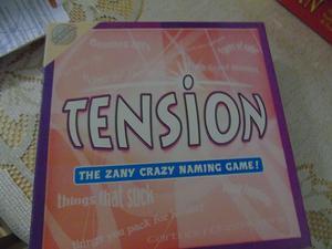 TENSION ZANY CRAZY NAMING GAME !