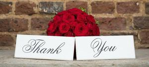 Thank You Plaques £ 5.00