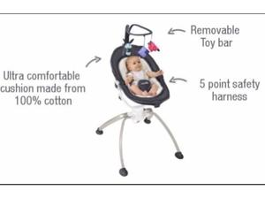 babymoov swoon baby bouncer chair in Solihull