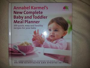 """Annabel Karmel's """"New Complete Baby and Toddler Meal Planner"""". Only £5.00"""