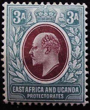 Edward VII East Africa 3A mint stamp SG5