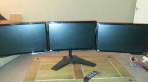 Gaming monitors setup Benq 21inch
