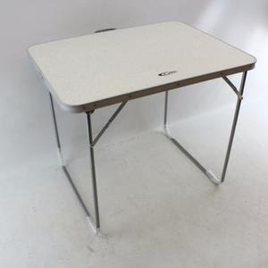 Gelert Folding Table Camping Table Steel/Aluminium Lightweight 80 x 60 x 70 cm