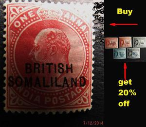 Stamp offer on Somaliland stamps two days only