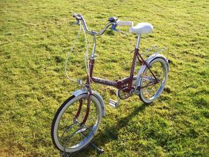 Stowaway 3 Universal folding bike for Caravan Motorome Boats