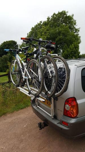 Terracan Bike Rack
