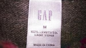 Vintage Gap 100%lambswool jumper/dress size m