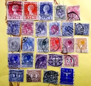 Vintage postage stamps - Holland