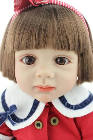 "24"" soft body silicone doll collectable"