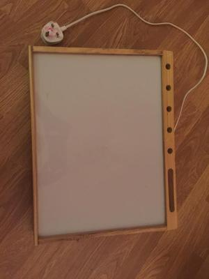 A4 crafts/tracing light box