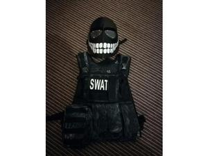 Airport mask and kryptek vest in Barnsley