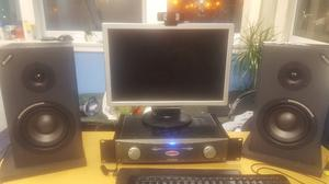 Alessi Monitor 1 MK2 Passive Monitors (x 2) + Alessi RA150 AMP