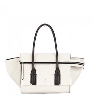 BRAND NEW Fiorelli Large Tote Bag In Cream/Black RRP £89