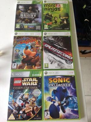 Bundle of Xbox 360 Games