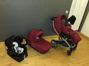 Chicco pushchair travel system used