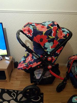 Cosatto ooba proper poppy travel system