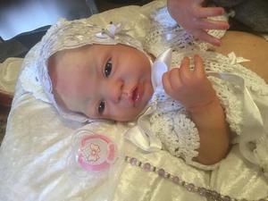 ESME by LAURA LEE EAGLES,FULL BODIED REBORN VINYL BABY