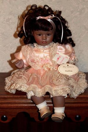 Porcelain collectors Doll called Nadine by Leonardo.