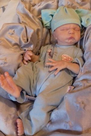 Reborn full body vinyl baby boy
