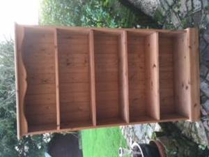 SOLID PINE BOOK SHELF FOR SALE