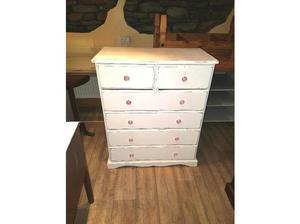 Solid pine chest drawers in Ferndale