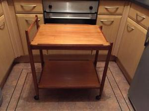 Teak tea trolley by (White & Newton) Retro Vintage