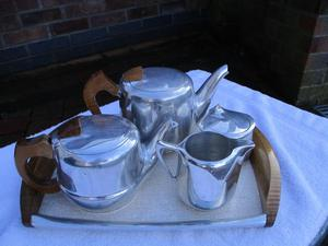 Vintage Picquot tea set.
